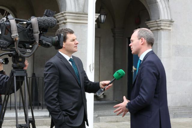Ag Day 2 Min Coveney RTE TV Interview